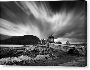Eilean Donan Castle 2 Canvas Print by Dave Bowman