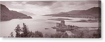 Eilean Donan Castle On Loch Alsh & Canvas Print by Panoramic Images