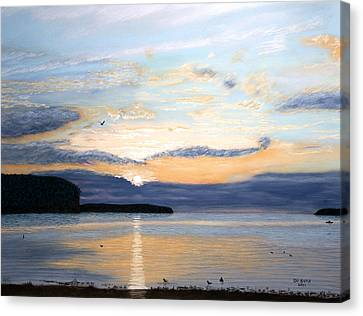 Eileen's Sunset Canvas Print