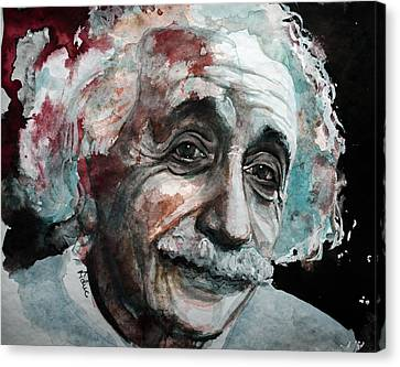 Einstein  Canvas Print by Laur Iduc