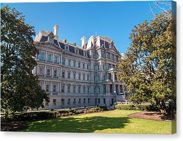 Eisenhower Executive Office Building In Washington Dc Canvas Print