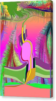 Ej Dance With Sne Canvas Print
