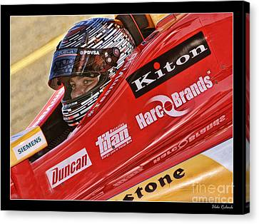 E.j. Viso Canvas Print by Blake Richards