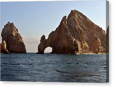 Canvas Print featuring the photograph El Arco De Cabo San Lucas by Christine Till