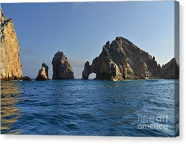 El Arco - The Arch - Cabo San Lucas Canvas Print by Christine Till