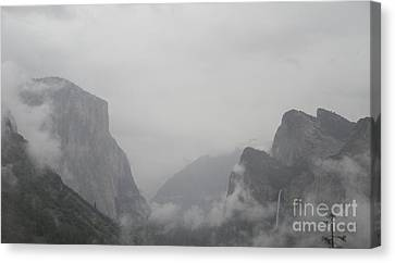 El Capitan And Bridal Veil Falls Revealed Canvas Print