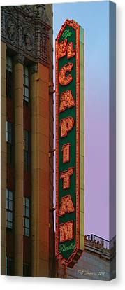 El Capitan Theatre Canvas Print