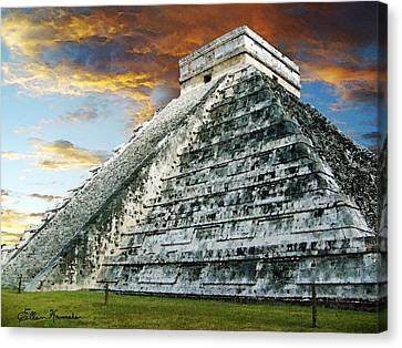El Castillo Canvas Print by Ellen Henneke