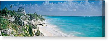 El Castillo, Quintana Roo Caribbean Canvas Print by Panoramic Images