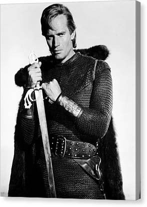 El Cid, Charlton Heston, 1961 Canvas Print by Everett