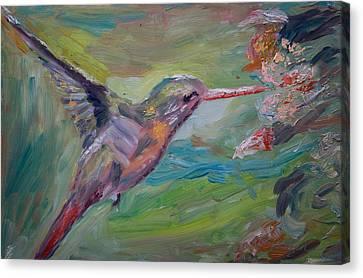 El Colibri Canvas Print by Horacio Prada