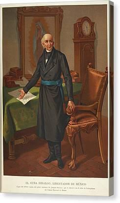 El Cura Hidalgo Canvas Print by British Library
