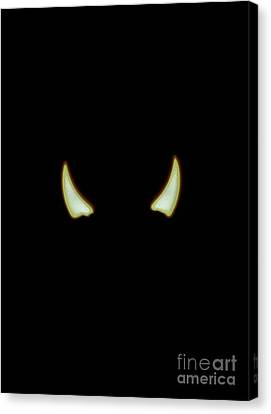 El Diablo Canvas Print by Angela J Wright