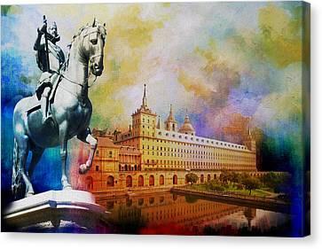 El Escorial Monastry Canvas Print by Catf