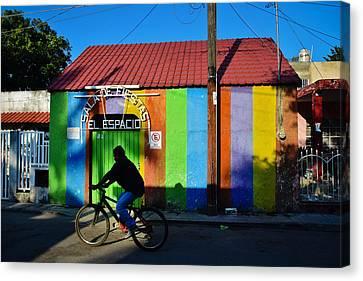 Mexico Canvas Print - El Espacio by Skip Hunt