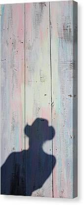 El Hombre Door Canvas Print