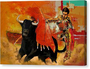 El Matador Canvas Print by Corporate Art Task Force