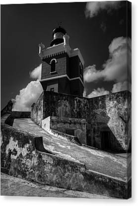 Castillo San Felipe Canvas Print - El Morro 001 by Lance Vaughn