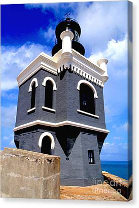 El Morro Lighthouse Canvas Print by Carey Chen