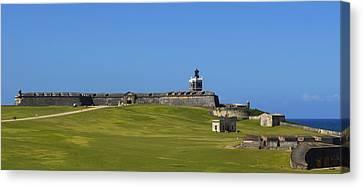 El Morro Panorama Canvas Print