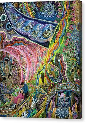 Canvas Print - El Principio De La Vida by Pablo Amaringo