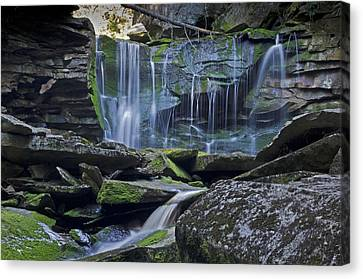 Elakala Falls Number 1 Canvas Print