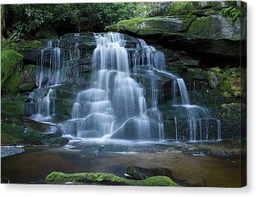 Elakala Falls Number 2 Canvas Print