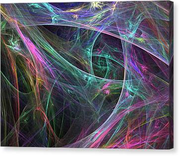 Elasticity-01 Canvas Print by RochVanh