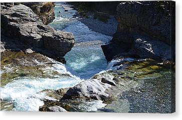 Elbow Falls Canvas Print by Cheryl Miller