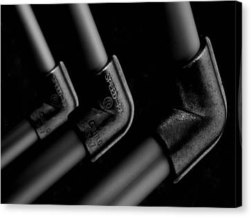 Elbows Canvas Print by Steven Milner