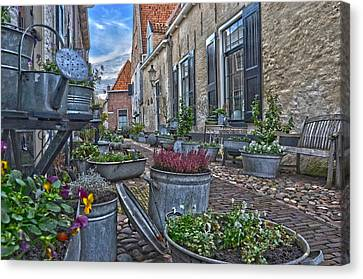 Elburg Alley Canvas Print