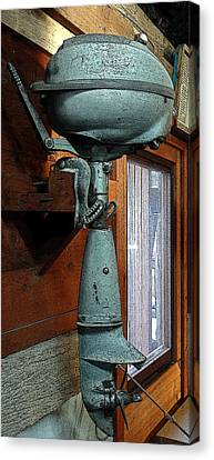 Elderly Outboard - Graphic Canvas Print