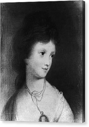 Eleanor Parke Custis Lewis(1779-1852) Canvas Print by Granger