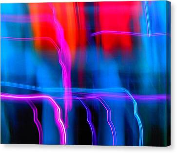 Electric Dance Canvas Print