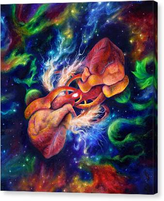 Electric Desire Canvas Print by Kd Neeley