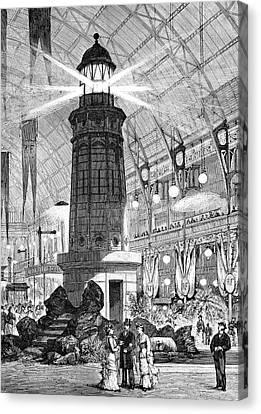 Electrical Exhibition Canvas Print by Bildagentur-online/tschanz