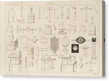Edition Canvas Print - Electricity Experiments by King's College London