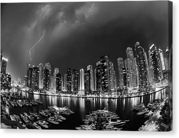 Electricity Canvas Print by Robert Work