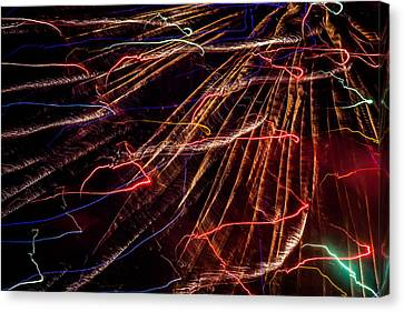 Electricity Canvas Print by Sara Frank