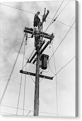 Electrification, 1938 Canvas Print by Granger