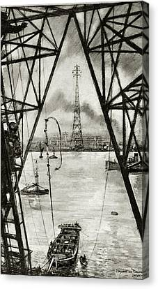 Electrification Of England Canvas Print by Cci Archives