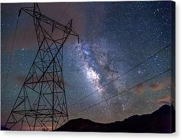Electrifying Canvas Print