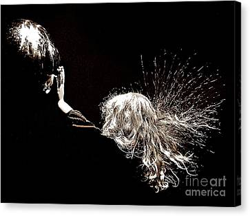 Electrifying Canvas Print by Scott Allison