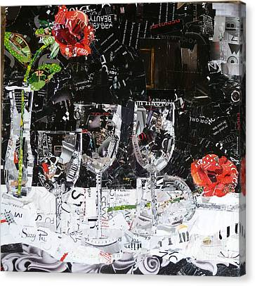 Elegance Is An Attitude Canvas Print by Suzy Pal Powell