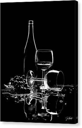 Apple Martini Canvas Print - Elegance by Jon Neidert