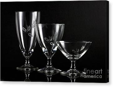 Elegant Crystals Canvas Print