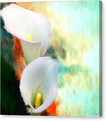 Elegantly Pure Canvas Print by Lourry Legarde