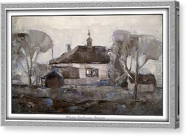 Elegiac Landscape Ell2 Canvas Print