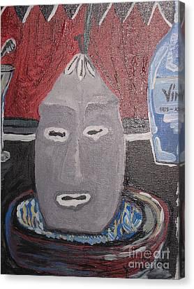 Elegua Alaguana Canvas Print by Yoandy Rodriguez