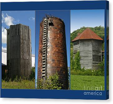 Elegy To Family Farms Canvas Print